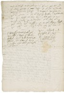 Letter from Robert Dudley, Earl of Leicester, to George Talbot, Earl of Shrewsbury