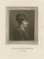 Lewis XI King of France, Henry VI, part III, from a print by De Bie [graphic] / Harding, del. ; Schiavonetti, sculp.