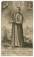 B. Aloysius Gonzaga ... 1607 [graphic] / Hieronymus Wierx D D., faciebat.