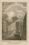 Drury Lane Theatre [graphic] / engraved by Ellis ; from a drawing by Schnebblie.