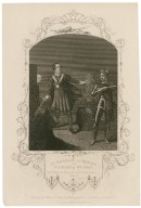 Mr. Macready as Hamlet, and Mr. Stuart as the Ghost ... [in Shakespeare's] Hamlet, act 1, sc. 5 [graphic] / engraved by Hollis, from an original painting by Reid in the possession of the publishers.