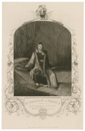 Mr. Macready as Henry IV: How many thousands of my poorest subjects are at this hour asleep, [in Shakespeare's] Henry IV, pt. 2, act 3, scene 1 [graphic].