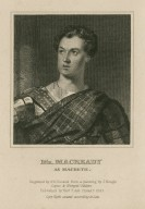 Mr. Macready as Macbeth [in Shakespeare's Macbeth] [graphic] / engraved by A.B. Durand from a painting by J. Neagle.