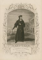Mr. Macready as Shylock, Merchant of Venice, act I, scene 3 [graphic] / from a daguerreotype by Paine of Islington.