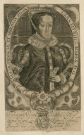 The mightie Princess Marie by the grace of God, queene of England France and Ireland &c [graphic] / Fran. Delaram, sculp.