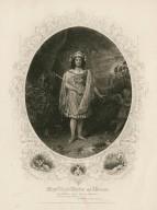 Miss Lizzie Weston as Oberon [in Shakespeare's] Midsummer Nights Dream ... [graphic].