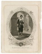 Mr. John E. Owens as Launcelot Gobbo ... [in Shakespeare's merchant of Venice] [graphic] / engd. by R. Thew.
