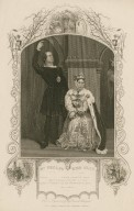 Mr. Phelps & Miss Glyn [as Hamlet and the Queen, in Shakespeare's Hamlet] ... act 3, scene 4 [graphic].
