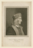 Philip King of France : [graphic] King John, from a print by De Bie / Harding, del. ; Birrell, sc.