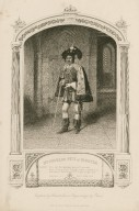 Mr. Charles Pitt as Gloster ... [in Shakespeare's] Henry VI, part 3 ... [graphic] / engraved by Sherratt ; from a daguerreotype by Paine.
