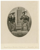 Henry and Thos. Placide as the two Dromios ... [in Shakespeare's] Comedy of errors, ac.V, sc. 1 [graphic].