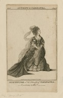 Miss Younge in the character of Cleopatra [graphic] : [in Shakespeare's] Anthony & Cleopatra / Roberts del.