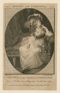 Mrs. Pope in the character of Cleopatra ... [in Shakespeare's play] Antony and Cleopatra ... [graphic] / Burney, delt. ; Thornthwaite, sculpt.