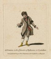 Mr. Powell in the character of Posthumus in Cymbeline [by Shakespeare] [graphic].