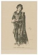 Signor Ernesto Rossi [in costume of Hamlet, in Shakespeare's play of that name] [graphic].