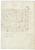 Letter from Baron Thomas, Howsham (i.e. Howsom), Yorkshire, to Sir Henry Slingsby