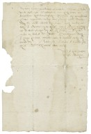 Letter from Christopher Mather to Francis Slingsby