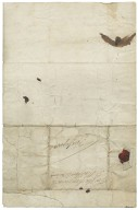 Letter from John Whitehead, London, to Sir Matthew Wentworth, 2nd bart.
