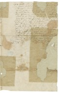 Letter from unknown correspondent from the Inner Temple to Sir Thomas Wentworth, bart., Bretton