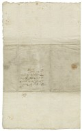 Letter from Peter Benson, Knaresborough (i.e. Knar), Yorkshire, to Sir Francis Trappes-Byrnand.