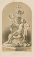 Shakspere [statue] [graphic] / designed by W. Boyton Kirk, sculptor ; J.A. Vinter, lith.
