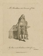 Mr. Sheridan, in the character of Cato: My bane and antidote, are both before me, act V, scene I [in Addison's Cato] [graphic].