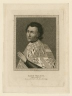 Lord Talbot [Earl of Shrewsbury] Henry VI, part 1, from a portrait in the Heralds College [graphic] / J. Parker, sc.