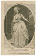"""Mrs. Siddons as Isabella [in Southerne's Isabella, or, The fatal marriage] """"This ring was the first present of my love to Biron ... """" [graphic] / De Wilde pinxt. ; Leney, sculp."""