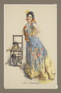 [Calve as Carmen by Bizet] [graphic] / [printed by Howard Chandler Christy].