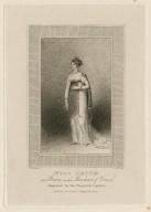 Miss Smith, as Portia in the Merchant of Venice [graphic] / Emma Smith, inxt. ; E. Scriven, sculpt.