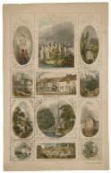 [Twelve Shakespearean landmarks] [graphic] / E. Cilks, lith., 170 Fleet St.