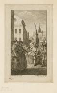 [All's well that ends well, act III, sc. 5] [graphic] / H. Gravelot, inv. et del. ; G. Vandergucht, sculp.