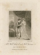 All's well that ends well, act 4, scene 2nd, Bertrm.: Here take my ring &c. [graphic] / Thurston del. ; Hopwood sculp.