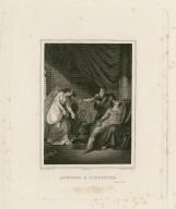 Antoine & Cléopâtre, act III, sc. IX [i.e. 11] [graphic] / Hy. Tresham, pt. ; Fauchery, del. ; Hy. Lafont, sculpt.
