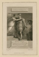 Antony & Cleopatra ... Lord of lords! O infinite virtue! coms't thou smiling from the world's great snare uncaught : act IV, sc. 8 [graphic] / drawn by J. Thurston ; engrav'd by A. Raimbach.