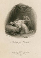 Anthony and Cleopatra, act 4, sc. 3 [i.e. 15...] [graphic] / painted by W. Hilton, R.A. ; engraved by C. Pye.