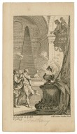 [Antony and Cleopatra, act IV, sc. 15] [graphic] / H. Gravelot in. & del. ; G. Vander Gucht scul.