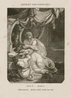 Anthony and Cleopatra, act V, scene 1 [i.e. 2], Charmione: Speak softly, wake her not [graphic] / [John Thurston] ; engraved by Allen Robert Branston.
