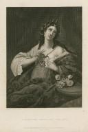 Cleopatra applying the asp [graphic] : [Antony and Cleopatra, act V, scene 2] / J. Rogers, sc.