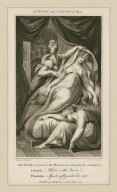 Antony and Cleopatra, act V, sc. II (a room in the monument, enter guards, rushing) ... Where is the Queen? Charmian: Speak softly, wake her not [graphic] / [Henry] Fuseli R.A., del. ; R.H. Cromek, sc.