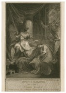 Antony & Cleopatra, act 5, scene 2, Cleopatra, guards, &c. [graphic] / painted by Henry Tresham R.A. ; engraved by George Noble.