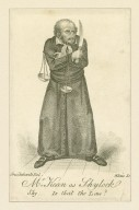 Mr. Kean as Shylock [in Shakespeare's Merchant of Venice] Shy.: Is that the law? [graphic] / Cruikshank, del. ; Alais, sc.
