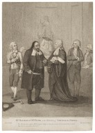 Mr. Macklin & Mrs. Pope in the characters of Shylock and Portia, act 4, scene 1...Vide, Merchant of Venice [graphic] / J. Boyne, pinxit; W. Nutter, sculpt.