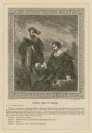 "Hamlet, Prince of Denmark, act V, scene the first ... ""Alas poor Yorick!"" ... [graphic] / W. Roberts sc. ; C.E. Dopler del."