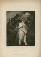 King John, act 3, scene 2 [i.e. 3] [graphic] / painted by J. Opie R.A. ; engraved by J. Fitler.