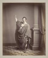 [Photographs of Edwin Forrest as Hamlet, Coriolanus, Virginius, Richard III, Macbeth, King Lear, Metamora and others] [graphic] / F. Gutekunst.