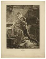 Le Réveil de Juliette [Romeo and Juliet, act 5, scene 3] [graphic] / d'après Albert Maignan ; A. Delzers.