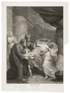Titus Andronicus, act IV, scene I ... [graphic] / painted by Thos. Kirk ; engrav'd by Thos. Kirk.