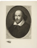 [Portrait of Shakespeare, from the Chandos portrait] [graphic] / W.H.W. Bicknell sculp.