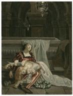 [Romeo and Juliet, V, 3, tomb scene] [graphic] / [Alexandre Bida].